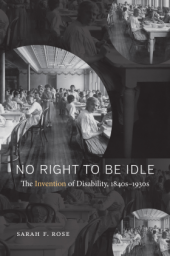 Book cover of Sarah Rose's No Right to Be Idle