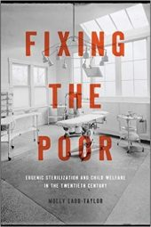 Cover of Molly Ladd-Taylor's Fixing the Poor